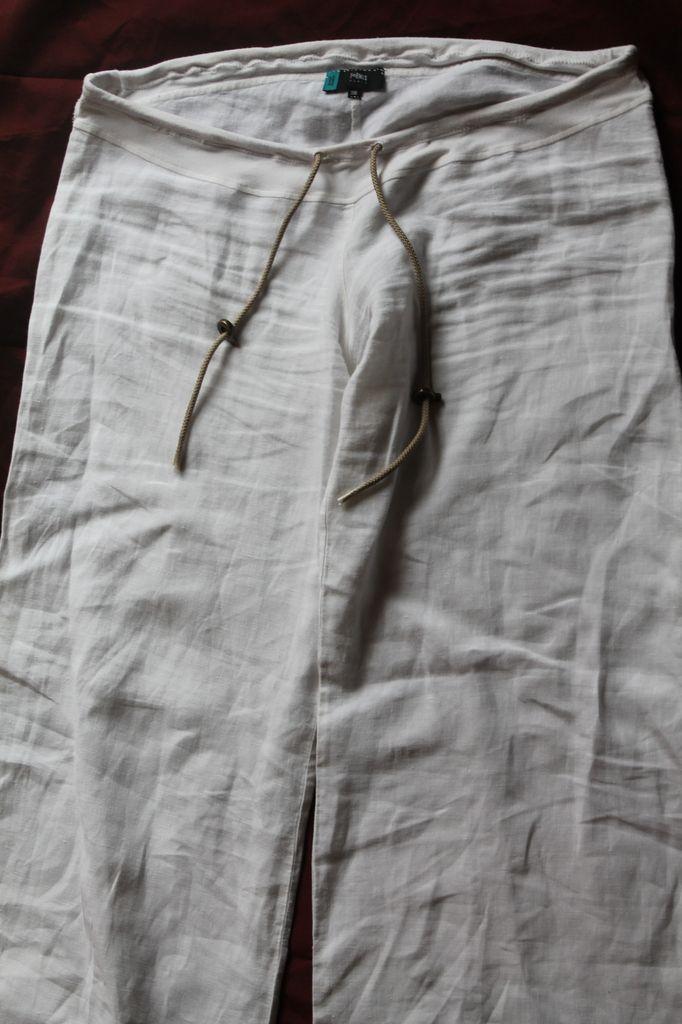 Pantalon De Grossesse Transformé En Pantalon