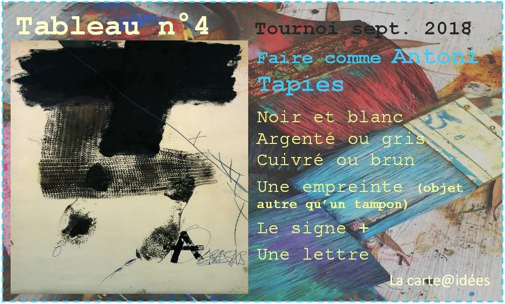 Tournoi : tableau n°4