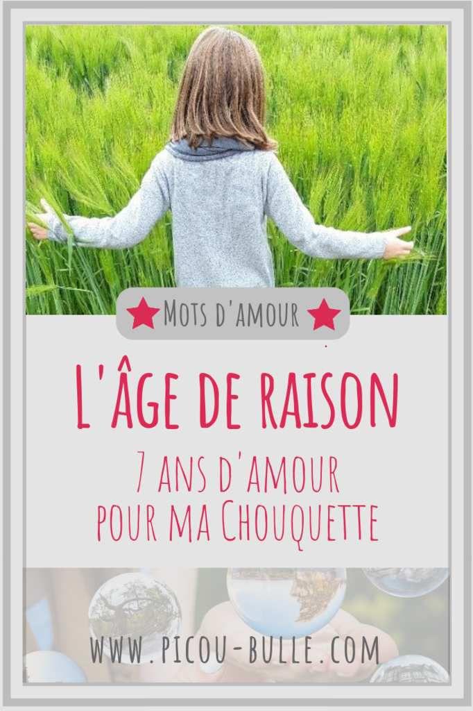7 Ans Age De Raison : raison, L'âge, Raison, Picou, Bulle, Maman, Décomplexé, Bienveillant,