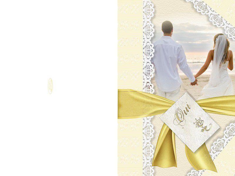 faire part de mariage a imprimer