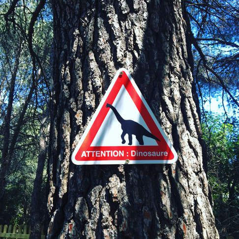 Carnet de voyage: Parc des dinosaures de Mèze