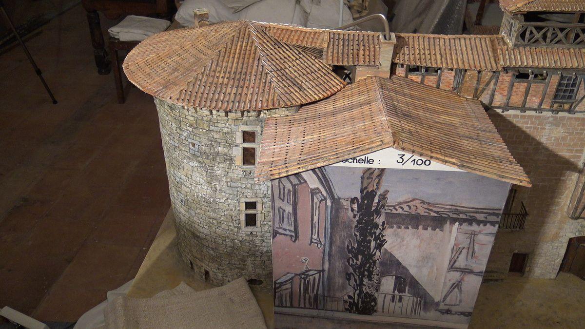 Le Chteau Fort De Mauriac Maison Du Peintre Bistes Www