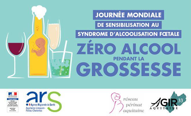 9 septembre, Journée mondiale de sensibilisation au Syndrome d'Alcoolisation Foetale