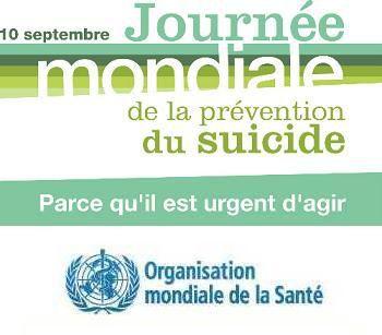 10 septembre, journée mondiale de prévention du suicide