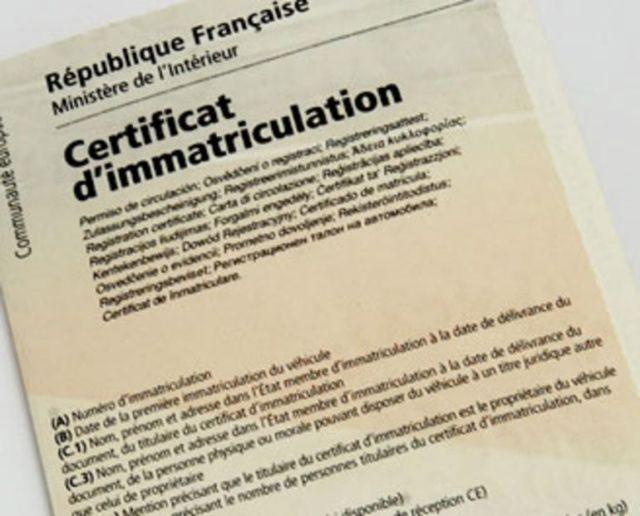 Changer l'immatriculation d'une voiture venant de l'étranger