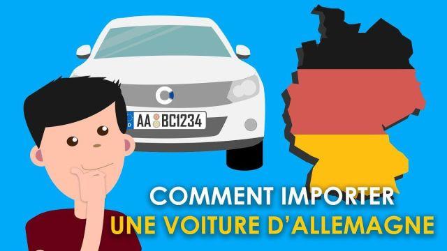 Formalités de demande de Carte grise pour  une automobile allemande importée