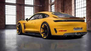 Certificat de conformité européen original Porsche officiel