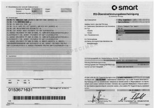 Demande de certificat de conformité Smart pas cher