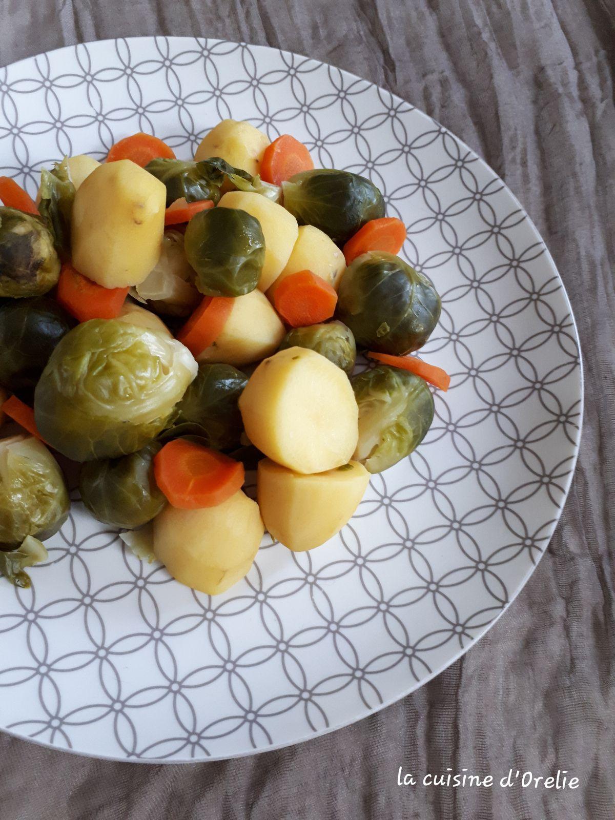 Choux De Bruxelles Cookeo : choux, bruxelles, cookeo, Pommes, Terre,, Choux, Bruxelles, Carottes, Cookeo, Sans), Cuisine, D'Orelie