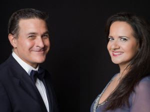 Olga De Maio soprano,Luca Lupoli tenore,  Gaetano Del Mauro ph