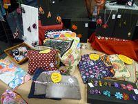 Photos du stand du marché de Noël à Yquebeuf