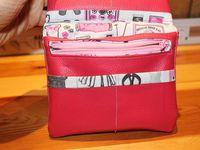 Tuto Couture Mini Compagnon Portefeuille - DIY