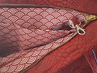 Coudre une Fermeture Intérieure en Haut d'un Sac - Tuto Couture