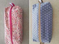 Coudre une Trousse d'école - Tuto Couture DIY Facile