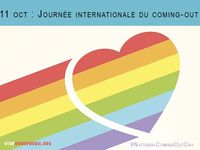 11 octobre, Journée Internationale des Filles,  Journée mondiale des soins palliatifs, Journée Internationale du Coming Out