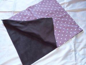 Couverture - porte couche - bavoir (cliquer sur les photos pour agrandir)