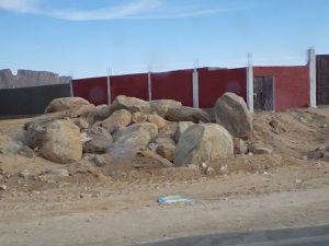 Logement de Sud Sahariens, chameliers, serres et constructions comme partout en Algérie.
