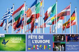 9 mai, journée de l'Europe.