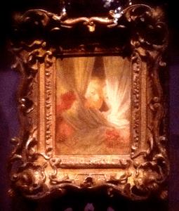 Jean-Honoré Fragonard. Les Curieuses. Vers 1775-1780. Huile sur toile. Paris, Musée du Louvre, dpt des Peintures.