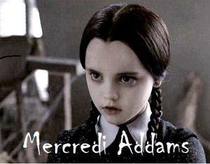 Mercredi Addams #1