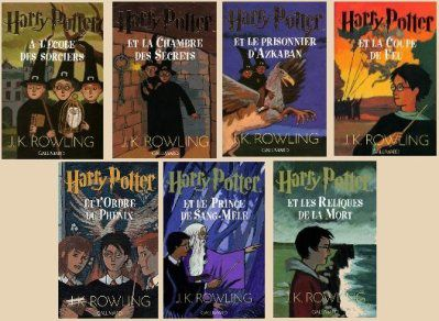 Binôme : Harry Potter - JK Rowling. Et les films.