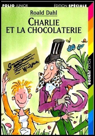Charlie et la chocolaterie - Roald Dahl et Tim Burton