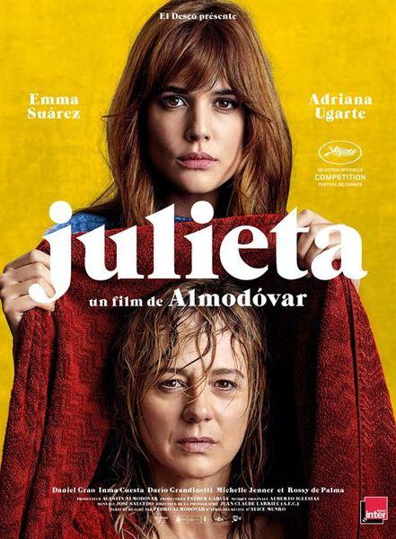 Julieta - Pedro Almodóvar (adaptation de Fugitives - Alice Munro)