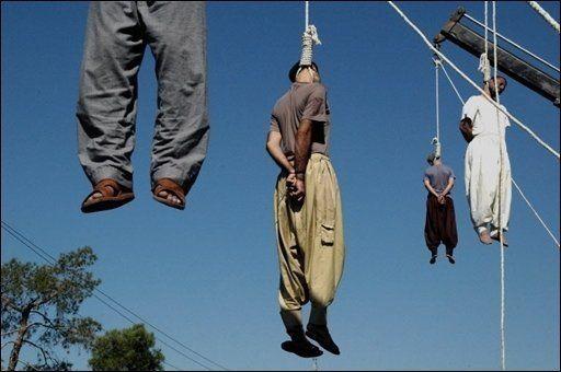 Pendaisons à Shiraz en Iran AFP/Archives