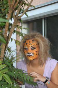maquillage puma jaguar tigre panthère lion féline