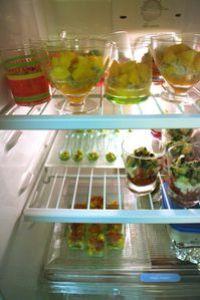 Apéro verrines - frigo