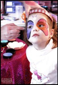 maquillage papillons