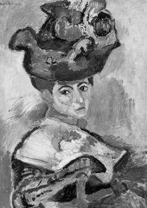 Femme au Chapeau-1905-NB
