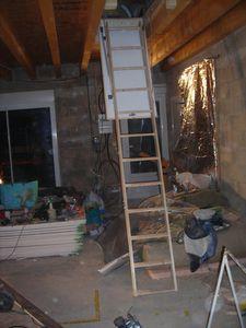 La Pose D Un Escalier Escamotable Autoconstruction Autoconstruire Sa Maison