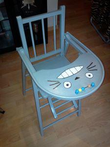 Chaise Haute bébé Totoro