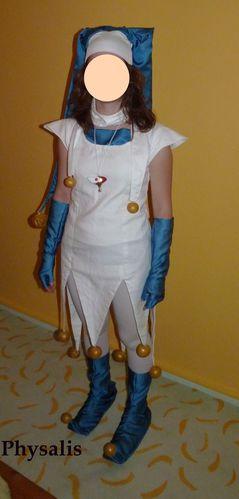 déguisement sahura joker bleu