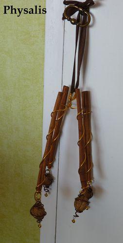 suspension cannelle