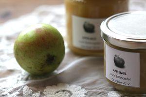 apfelmus 2012 - vom bohnapfel