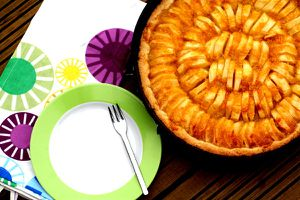 Tarta de Manzana - servierfertig