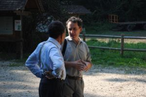 La visite avec le conservateur des marais Fabrice Darinot