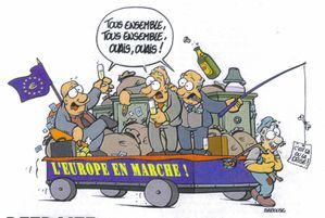 L'EUROPE EN MARCHE