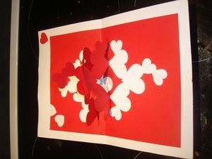 Carte Coeur Saint Valentin Ya Maman La Maison