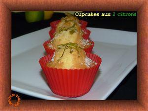 cupcakes aux 2 citrons