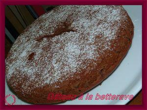 gâteau à la betterave