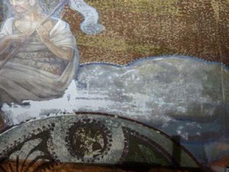P1120162 Restauration des peintures murales du choeur de l'église de Seuzey