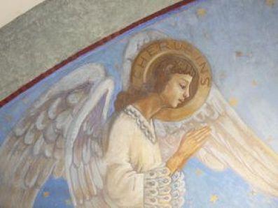 P1120890 Restauration de l'arc triomphal de l'église de Seuzey