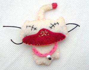 Zombie Felties Kitty