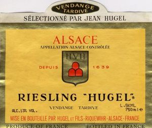RIESLING VT HUGEL