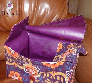 lunchbox velours violet 2