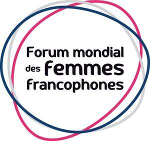 logo forum mondial des femmes francophones