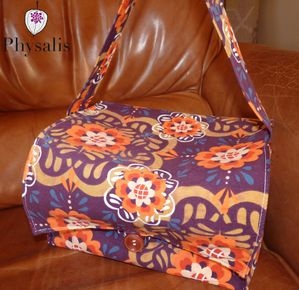 lunchbox velours violet